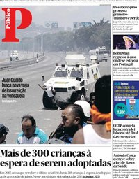 capa Público de 1 maio 2019