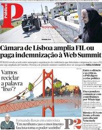 capa Público de 5 maio 2019