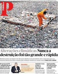 capa Público de 7 maio 2019