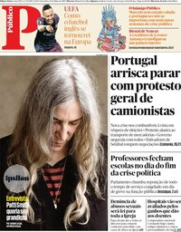 capa Público de 10 maio 2019