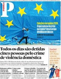 capa Público de 13 maio 2019
