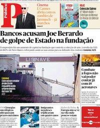 capa Público de 15 maio 2019