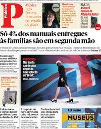 capa Público de 17 maio 2019