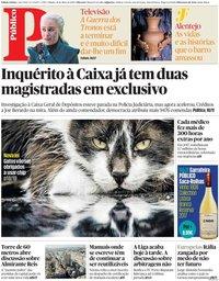 capa Público de 18 maio 2019