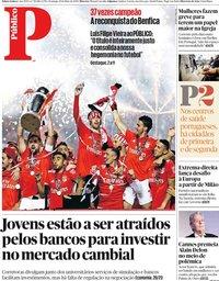 capa Público de 19 maio 2019