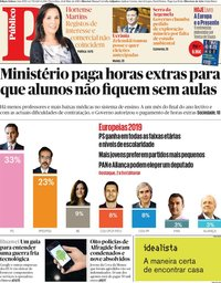 capa Público de 21 maio 2019