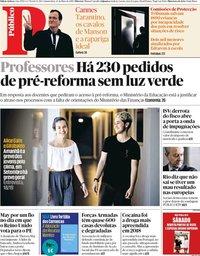 capa Público de 23 maio 2019