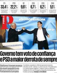 capa Público de 27 maio 2019
