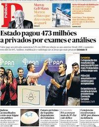 capa Público de 28 maio 2019