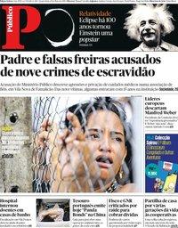 capa Público de 29 maio 2019