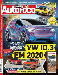 capa Revista Auto Foco de 16 maio 2019