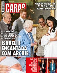 capa Revista Caras de 16 maio 2019