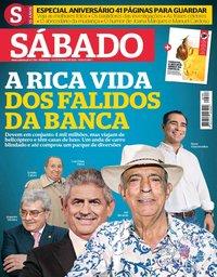 capa Revista Sábado de 9 maio 2019