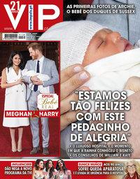 capa VIP de 11 maio 2019