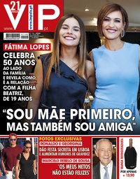 capa VIP de 18 maio 2019