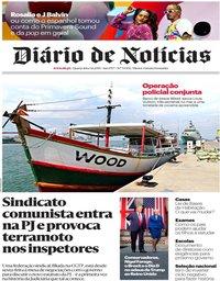 capa Diário de Notícias de 5 junho 2019