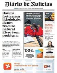 capa Diário de Notícias de 22 junho 2019