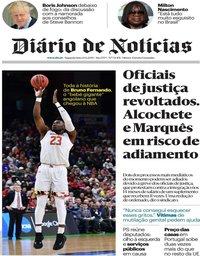 capa Diário de Notícias de 24 junho 2019