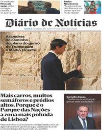 capa Diário de Notícias de 25 junho 2019