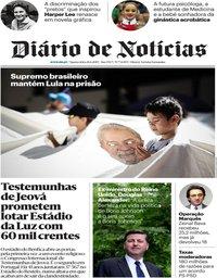capa Diário de Notícias de 26 junho 2019