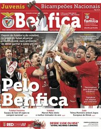 capa Jornal Benfica de 21 junho 2019