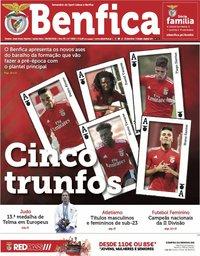capa Jornal Benfica de 28 junho 2019