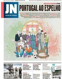 capa Jornal de Notícias de 2 junho 2019