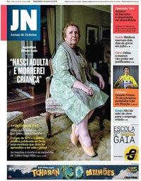 capa Jornal de Notícias de 4 junho 2019