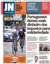 capa Jornal de Notícias de 5 junho 2019