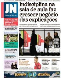 capa Jornal de Notícias de 7 junho 2019