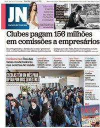 capa Jornal de Notícias de 14 junho 2019
