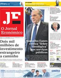 capa Jornal Económico de 28 junho 2019