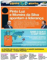 capa Jornal i de 3 junho 2019