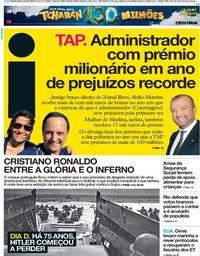 capa Jornal i de 6 junho 2019