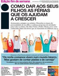 capa Jornal i de 7 junho 2019