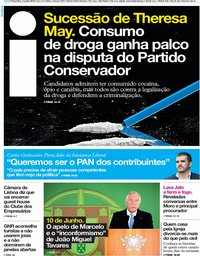 capa Jornal i de 11 junho 2019