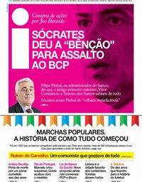 capa Jornal i de 12 junho 2019