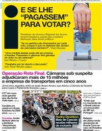 capa Jornal i de 13 junho 2019