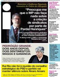capa Jornal i de 17 junho 2019
