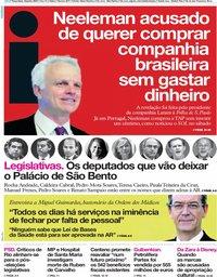 capa Jornal i de 18 junho 2019
