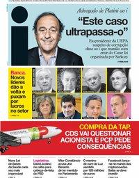 capa Jornal i de 19 junho 2019