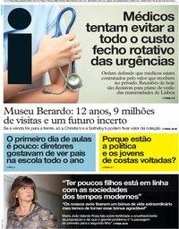 capa Jornal i de 25 junho 2019