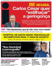 capa Jornal i de 26 junho 2019