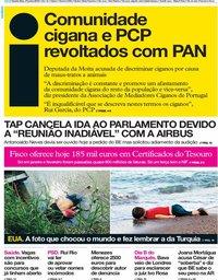 capa Jornal i de 27 junho 2019