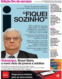 capa Jornal i de 28 junho 2019