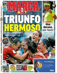 capa Jornal Marca de 9 junho 2019