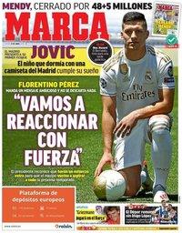 capa Jornal Marca de 13 junho 2019