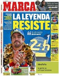 capa Jornal Marca de 17 junho 2019