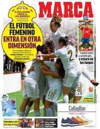 capa Jornal Marca de 23 junho 2019