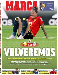 capa Jornal Marca de 25 junho 2019